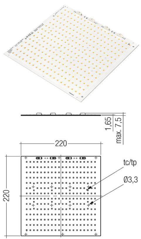 Beltrade: Tridonic Module QLE G1 220mm ADV IND