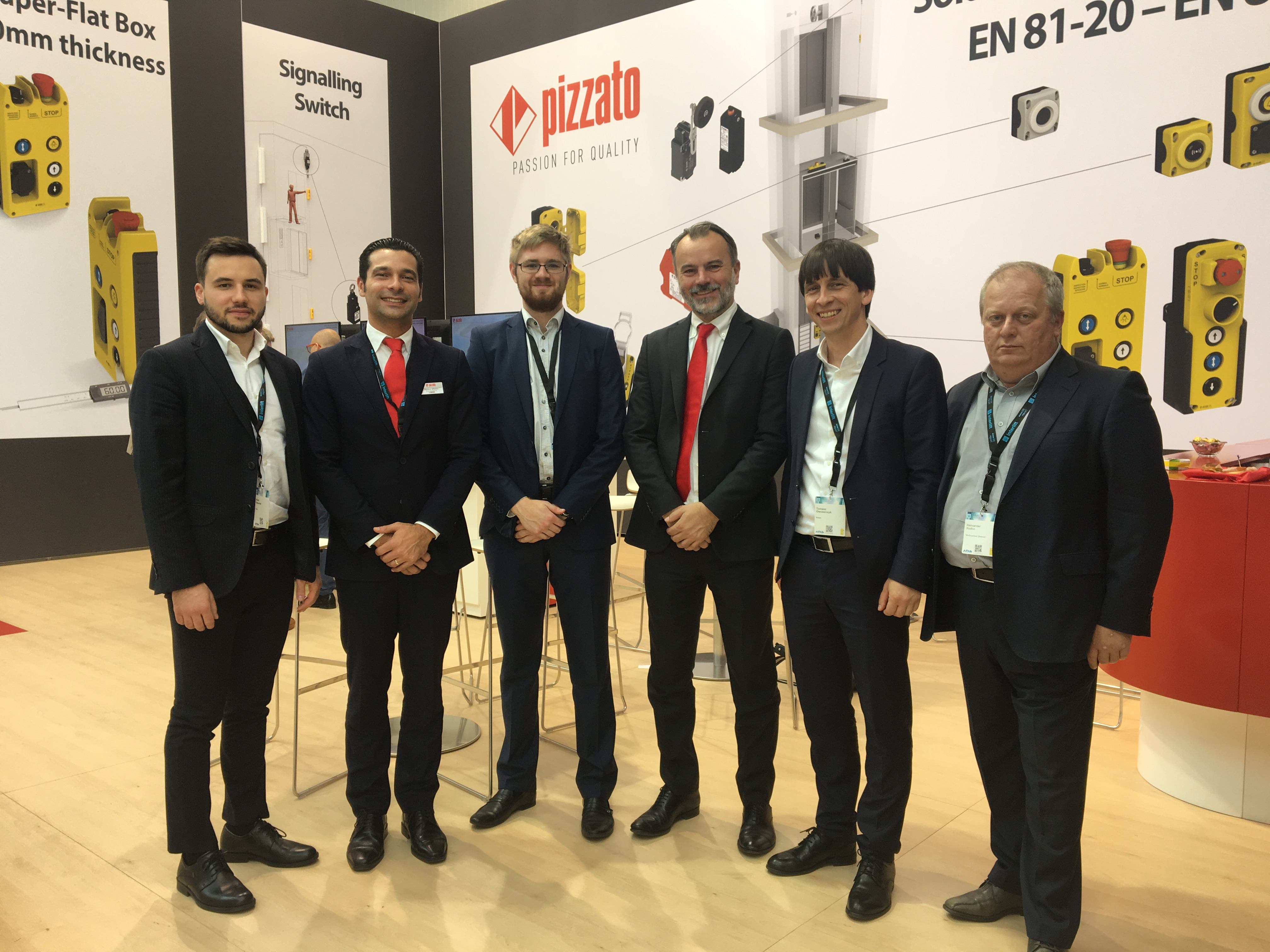 Beltrade Interlift 2017 Pizzato Elettrica