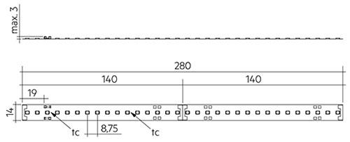 Новые продукты: светодиодный модуль LLE FLEX CC ADV